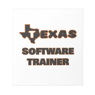 Texas Software Trainer Memo Notepad