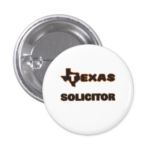 Texas Solicitor 1 Inch Round Button