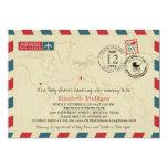 Texas / SPAIN Airmail | Baby Shower Card