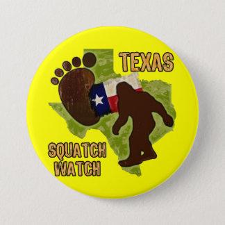 Texas Squatch Watch Pinback Button