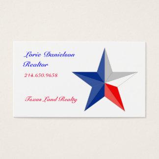 Texas Star Business Card