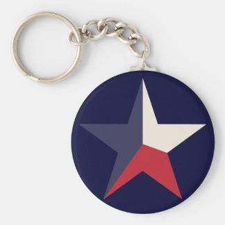 Texas Star Keychain