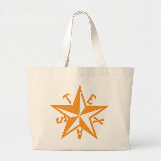 Texas Star Large Tote Bag