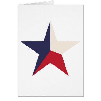 Texas Star Notecards Card