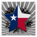 Texas Star Poster