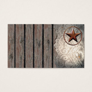 Texas Star South Western Country Business Cards