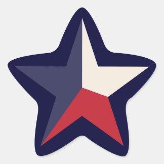 Texas Star Stickers