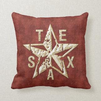 Texas Star Throw Pillow