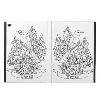 Texas State Bird & Flower Coloring Page Powis iPad Air 2 Case