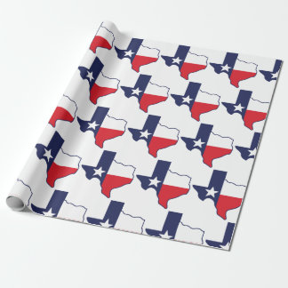 Texas State Birthday Gift Wrap