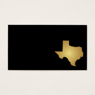 Texas business cards templates zazzle texas state business card metallic gold colourmoves Choice Image