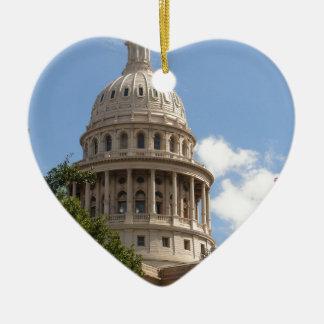 Texas State Capitol 2 Ceramic Ornament