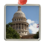 Texas State Capitol 2 Metal Ornament
