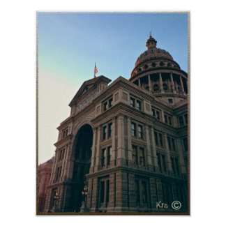 Texas State Capitol Building, Austin TEXAS Poster