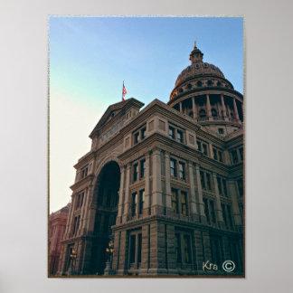 Texas State Capitol Building, Austin TEXAS Print