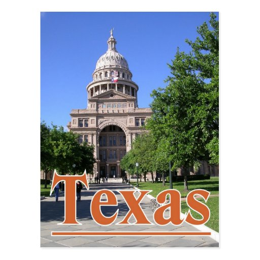 Texas State Capitol Building, Austin TX. Postcard