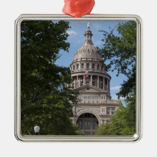 Texas State Capitol Metal Ornament