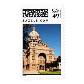 Texas State Capitol Postage Stamp - Austin, Texas