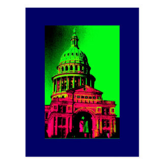 TEXAS STATE CAPITOL POSTCARD MULTI