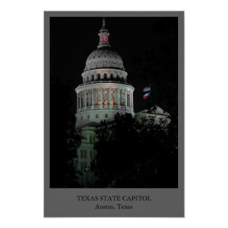 Texas State Capitol Print