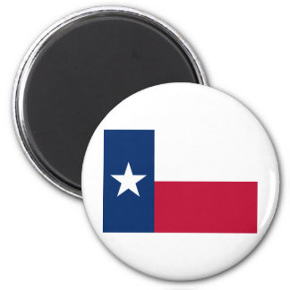Texas State Flag 2 Inch Round Magnet