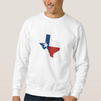 Texas State Flag and Map Sweatshirt