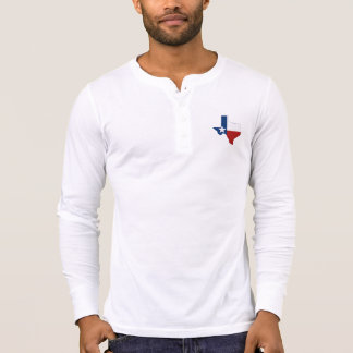 Texas State Flag and Map T Shirt