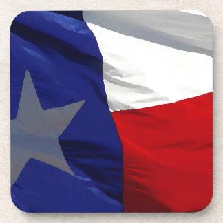 Texas State Flag Beverage Coaster