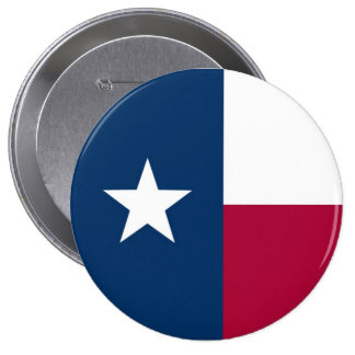 Texas State Flag Button