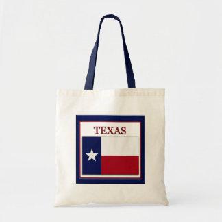 Texas State Flag Design Budget Canvas Bag