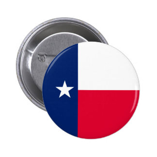 Texas State Flag Design Button