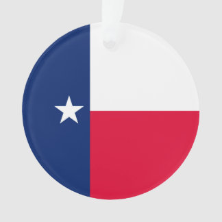 Texas State Flag Design Ornament