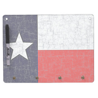 TEXAS STATE FLAG Dry Erase Board