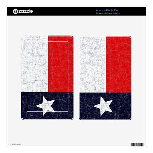 TEXAS STATE FLAG eReader Skin Kindle Fire Skin