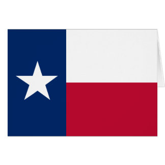 Texas State Flag Greeting Card