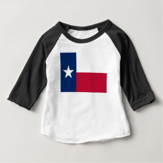 Texas state flag - high quality authentic color baby T-Shirt