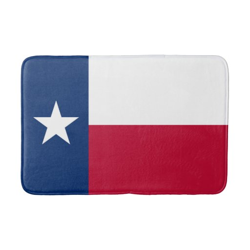 Texas State Flag High Quality Authentic Color Bathroom