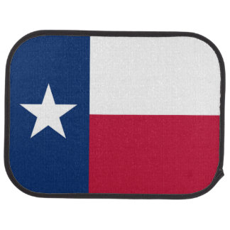 Texas state flag - high quality authentic color car floor mat