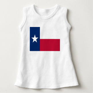 Texas state flag - high quality authentic color dress