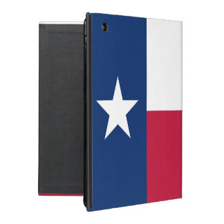 Texas state flag - high quality authentic color iPad case