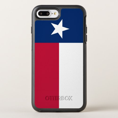 Texas state flag - high quality authentic color Phone Case