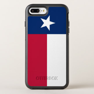Texas state flag - high quality authentic color OtterBox symmetry iPhone 7 plus case