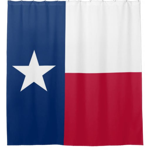 Texas State Flag High Quality Authentic Color Shower Curtain Zazzle