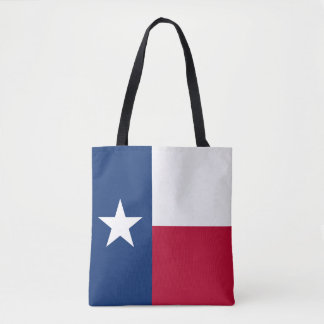 Texas state flag - high quality authentic color tote bag
