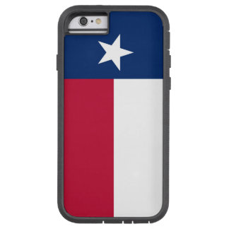 Texas state flag - high quality authentic color tough xtreme iPhone 6 case