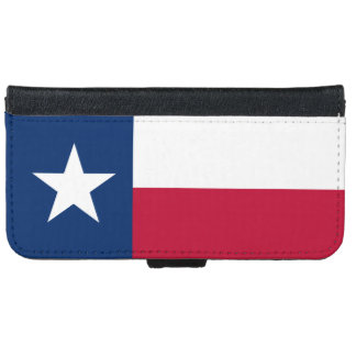 Texas State Flag iPhone 6 Wallet Case