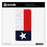 TEXAS STATE FLAG iPhone Skin Decal For iPhone 4S