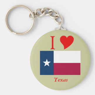 Texas State Flag Keychain