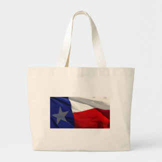 Texas State Flag Large Tote Bag
