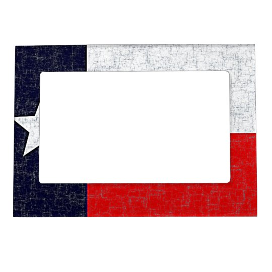 TEXAS STATE FLAG Magnetic Frame | Zazzle.com